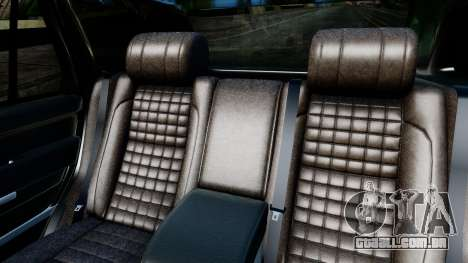 Range Rover Vogue Lumma Stratech para GTA San Andreas vista interior