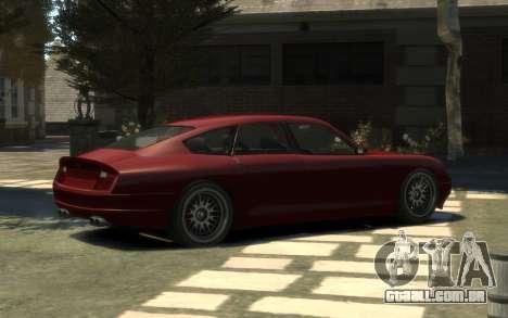 Pfister Alterego para GTA 4 esquerda vista