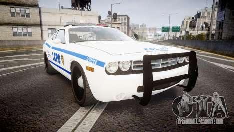 Dodge Challenger LCPD [ELS] para GTA 4