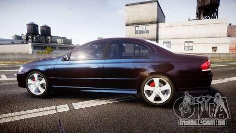 Ford Falcon XR8 2004 Unmarked Police [ELS] para GTA 4 esquerda vista