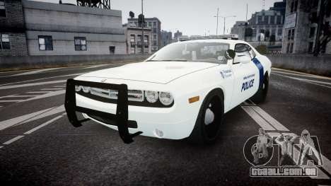 Dodge Challenger Homeland Security [ELS] para GTA 4