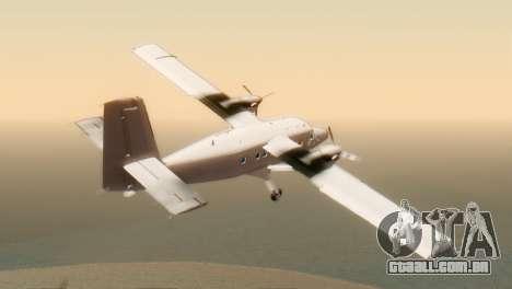 DHC-6-300 Twin Otter para GTA San Andreas esquerda vista