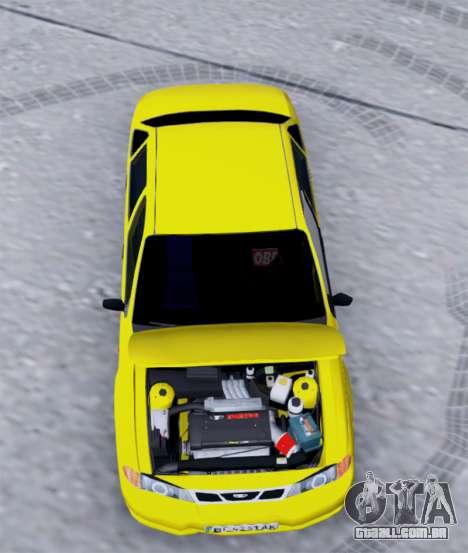 Daewoo Nexia 2006 para GTA San Andreas vista traseira