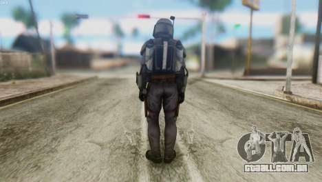 Star Wars Repulic Commando 2 Jango Fett para GTA San Andreas segunda tela