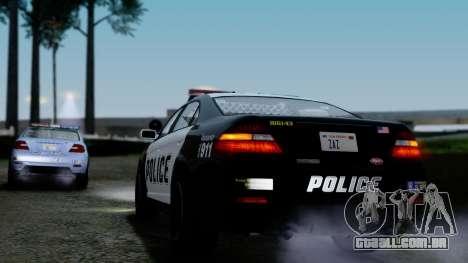 GTA 5 Vapid Police Interceptor v2 IVF para GTA San Andreas vista inferior
