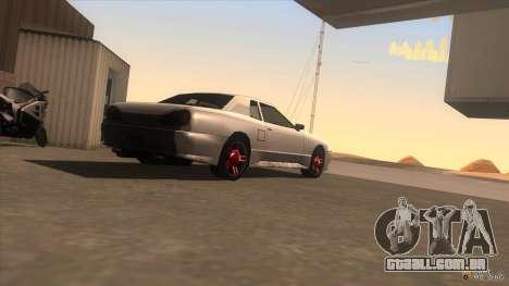 Super Elegy para GTA San Andreas esquerda vista
