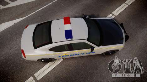 Dodge Charger Alaska State Trooper [ELS] para GTA 4 vista direita