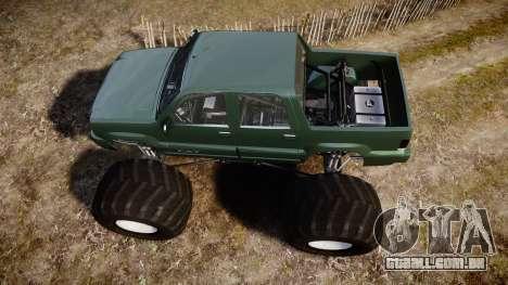 Albany Cavalcade FXT Monster Truck para GTA 4 vista direita