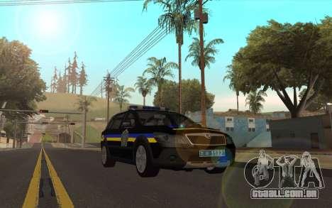 Skoda Octavia Scout DPS Ucrânia v2 para GTA San Andreas