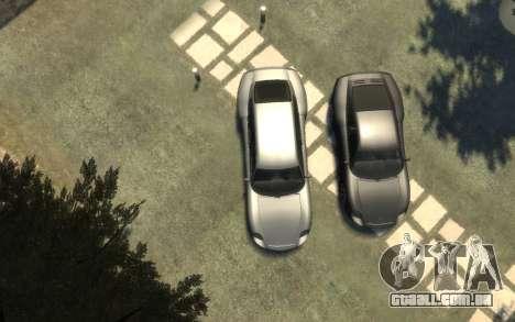 Pfister Alterego para GTA 4 traseira esquerda vista