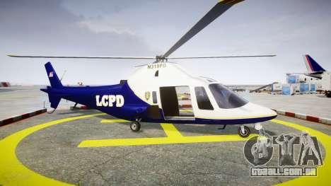 Buckingham Swift LCPD para GTA 4 esquerda vista