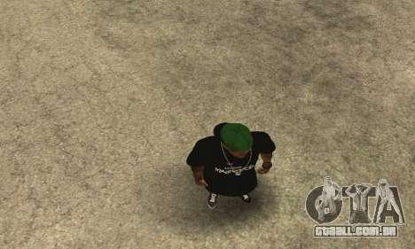 Groove St. Nigga Skin The Third para GTA San Andreas quinto tela