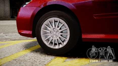 Renault Laguna III.1 Estate para GTA 4 traseira esquerda vista