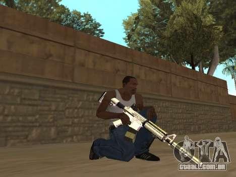 Chameleon Weapon Pack para GTA San Andreas por diante tela