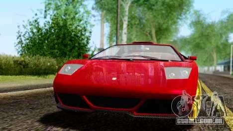 Pegassi Infernus Cento Miglia para GTA San Andreas