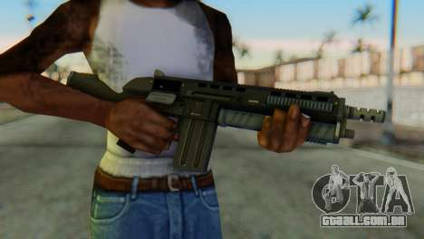 Assault Shotgun GTA 5 v1 para GTA San Andreas terceira tela