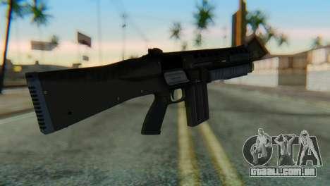 Assault Shotgun GTA 5 v1 para GTA San Andreas segunda tela