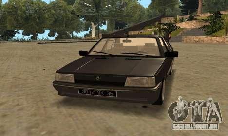 Renault 9 TSE 1992 para GTA San Andreas esquerda vista
