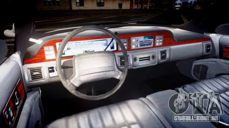 Chevrolet Caprice Liberty Police v2 [ELS] para GTA 4 vista de volta