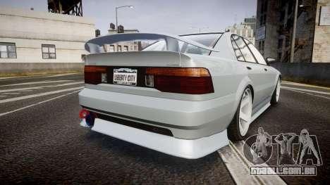 Maibatsu Vincent 16V Sport para GTA 4 traseira esquerda vista