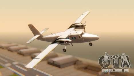 DHC-6-300 Twin Otter para GTA San Andreas