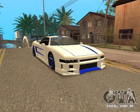 Infernus Pele para GTA San Andreas