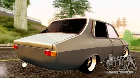 Dacia 1300 Tuning para GTA San Andreas esquerda vista