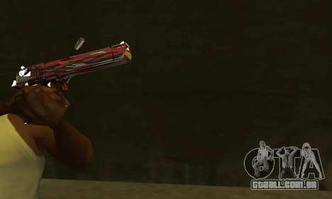 Red Puma Deagle para GTA San Andreas segunda tela