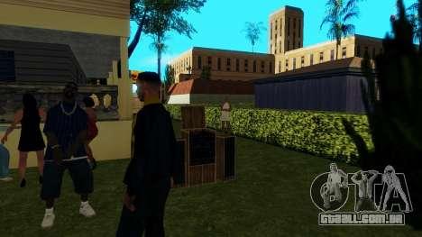 O partido de Jefferson para GTA San Andreas quinto tela