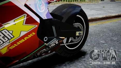 Bike Bati 2 HD Skin 1 para GTA 4 vista de volta