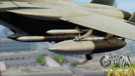 F-15C Eagle Luftwaffe JG 73 para GTA San Andreas vista direita