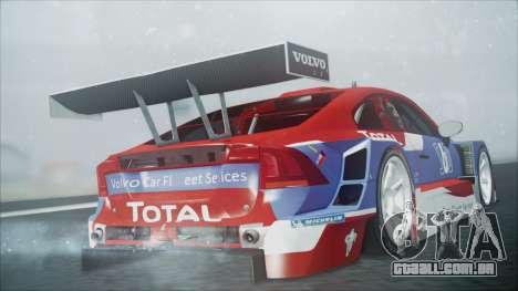 Volvo S60 Racing para GTA San Andreas esquerda vista