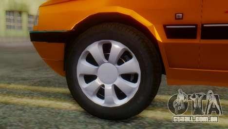 Peugeot 405 Slx Taxi para GTA San Andreas traseira esquerda vista