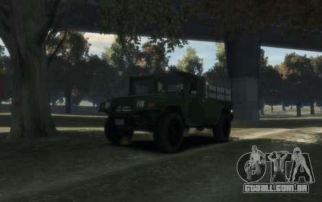 GTA 5 Millitary Patriot para GTA 4 vista direita