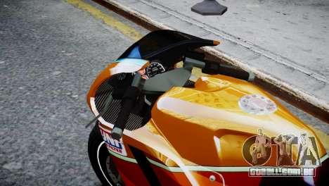 Bike Bati 2 HD Skin 1 para GTA 4 vista direita