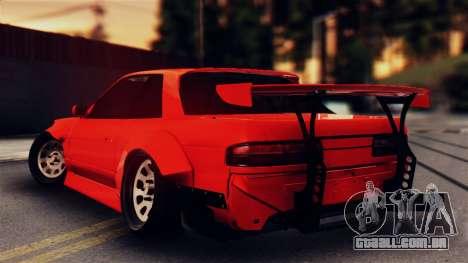 Nissan Onevia para GTA San Andreas esquerda vista