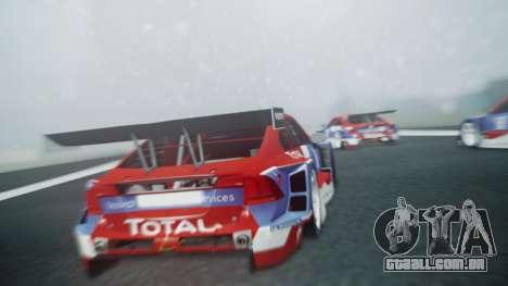 Volvo S60 Racing para GTA San Andreas vista traseira