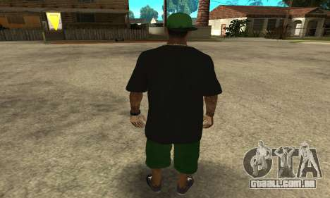 Groove St. Nigga Skin The Third para GTA San Andreas terceira tela
