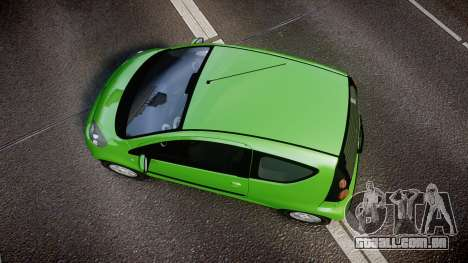 Citroen C1 2011 para GTA 4 vista direita