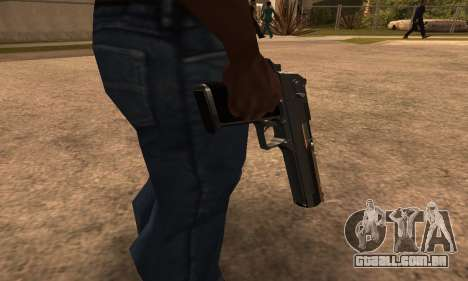 Deagle White and Black para GTA San Andreas segunda tela