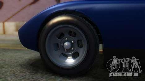 GTA 5 Pegassi Monroe IVF para GTA San Andreas traseira esquerda vista
