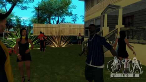 O partido de Jefferson para GTA San Andreas por diante tela