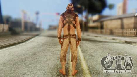 Lunatic NPC from Batman Arkham Asylum para GTA San Andreas terceira tela