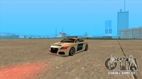 O Audi TT RS 2011 Polícia húngara para GTA San Andreas