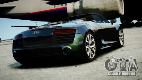 Audi R8 Spyder 2014 [EPM] para GTA 4 esquerda vista