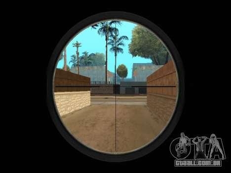 Chameleon Weapon Pack para GTA San Andreas oitavo tela