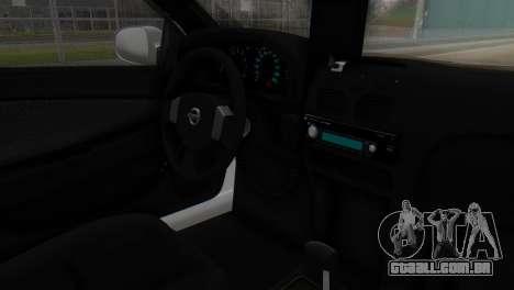 Nissan Almera Iraqi Police para GTA San Andreas vista direita