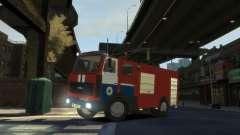 MAZ 533702 o Ministério das situações de emergên