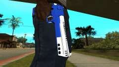 Blue Cool Deagle para GTA San Andreas