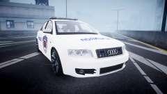 Audi S4 Serbian Police [ELS] para GTA 4